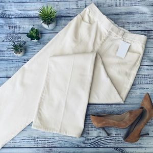 Helmut Lang Corduroy Trouser Pant Off White Cream